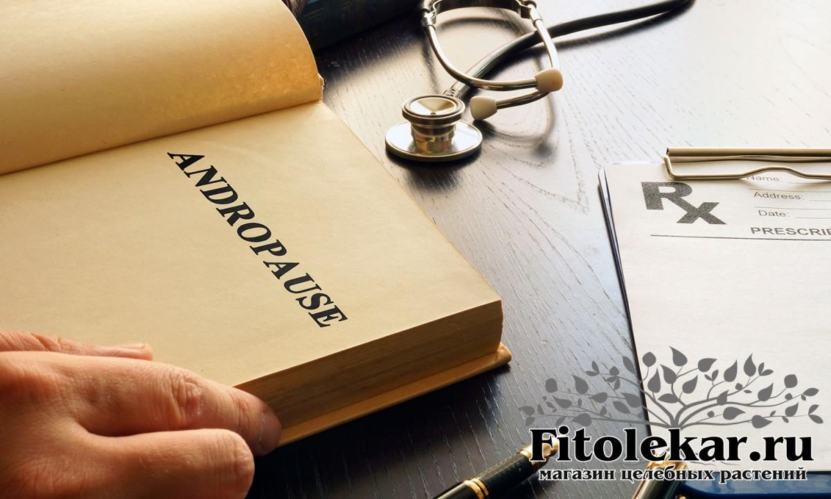 лечение андропаузы, травы при андропаузе, сборы трав при андропаузе, настойки при андропаузе